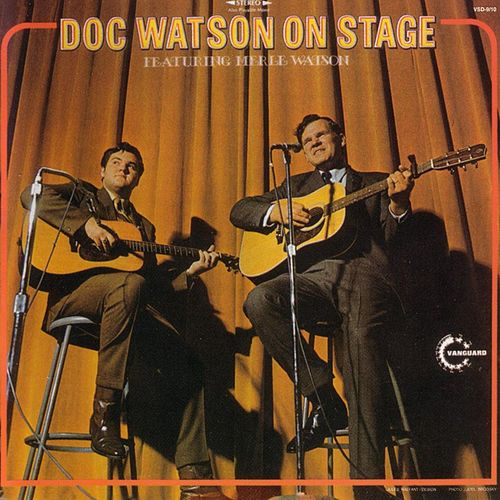 Doc Watson on Stage by Doc Watson