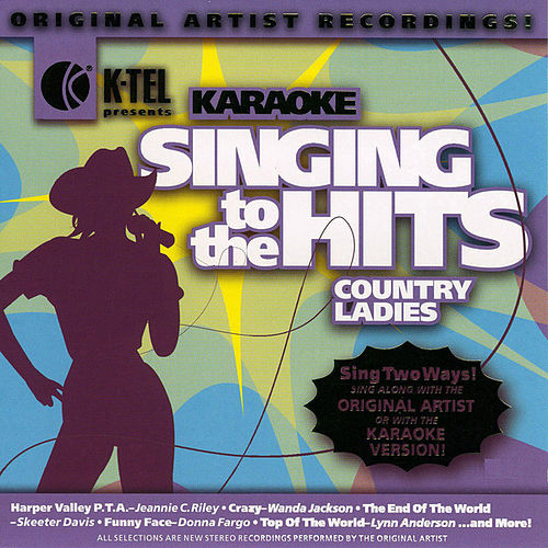 Karaoke: Country Ladies - Singing to the Hits by Various Artists