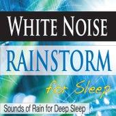 White Noise Rainstorm for Sleep: Sounds of Rain for Deep Sleep by Steven Current