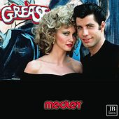 Grease Medley: Grease / Summer Nights / Hopelessly Devoted to You / You're the One That I Want / Sandy / Beauty School Dropout / Look at Me, I'm Sandra Dee / Greased Lightning / It's Raining on Prom Night / Alona at the Drive-In-Movie / Blue Moon by Silver