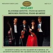 Mozart Piano Quartets by Menuhin Festival Piano Quartet