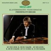 Mozart: Piano Sonatas K. 330, K. 283 & K. 311 by Friedemann Rieger