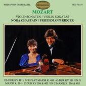 Mozart: Violin Sonatas Nos. 33, 30, 18 & 17 by Friedemann Rieger