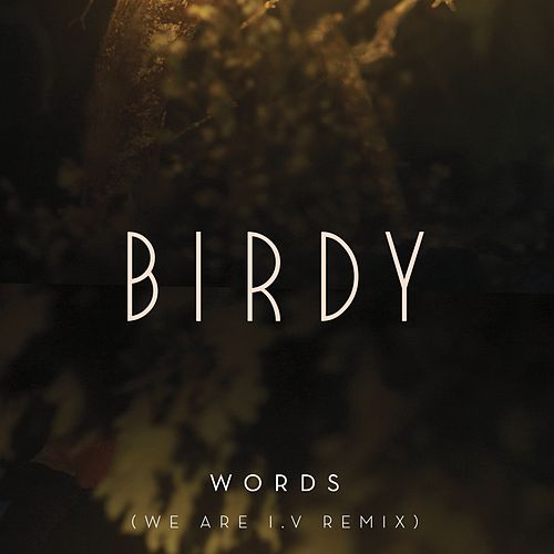 Words (We Are I.V Remix) by Birdy