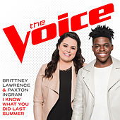 I Know What You Did Last Summer (The Voice Performance) von Paxton Ingram