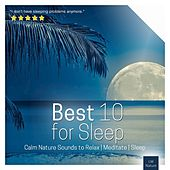 Best 10 for Sleep | Calm Nature Sounds to Relax von Various Artists