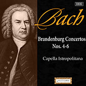 Bach: Brandenburg Concertos Nos. 4, 5 and 6 by Capella Istropolitana