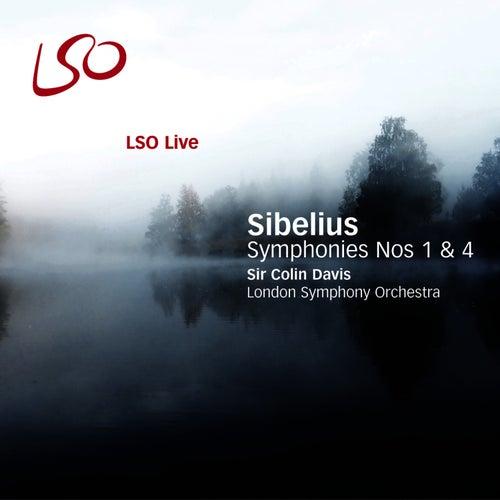 Sibelius: Symphonies Nos. 1 & 4 by Sir Colin Davis
