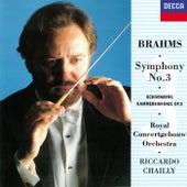 Brahms: Symphony No. 3 / Schoenberg: Chamber Symphony No. 1 von Riccardo Chailly