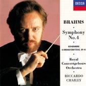 Brahms: Symphony No.4 / Schoenberg: 5 Orchestral Pieces von Riccardo Chailly