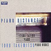 Piano Distance by Toru Takemitsu