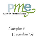 Sampler #1 von Pacific Mozart Ensemble