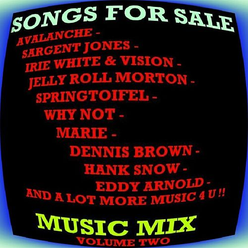 Songs for Sale - Music Mix Vol.2 by Various Artists