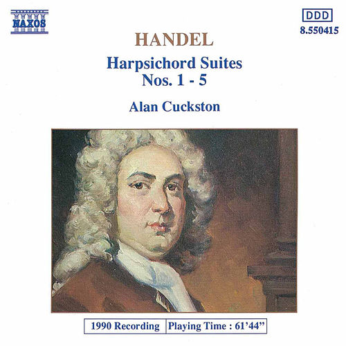 Harpsichord Suites Nos. 1-5 by George Frideric Handel