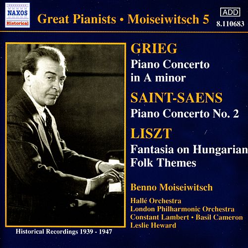 Great Pianists: Moiseiwitsch by Various Artists
