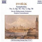Symphonies Nos. 5 and 7 by Antonin Dvorak