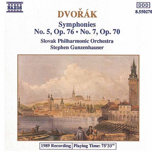 Symphonies Nos. 5 and 7 by Antonin Dvorak