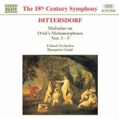 Sinfonias Nos. 1 - 3 by Carl Ditters von Dittersdorf