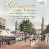 Telemann: Oboe Concertos by Donatas Katkus St. Christopher Chamber Orchestra