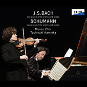 J.S.Bach: Sonata No. 3 for Violin and Piano, Schumann: Sonata No. 2 for Violin and Piano by Toshiyuki Kamioka