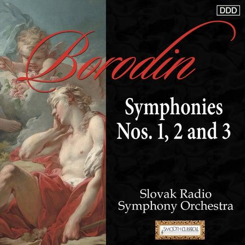 Borodin: Symphonies Nos. 1, 2 and 3 by Slovak Radio Symphony Orchestra