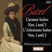 Bizet: Carmen Suites Nos. 1 and 2 - L'Arlesienne Suites Nos. 1 and 2 by Philharmonia Cassovia