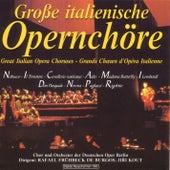 Grosse italienische Opernchöre by Rafael Frühbeck de Burgos Chor und Orchester der Deutschen Oper Berlin