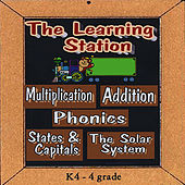 Multiplication, Addition, States & Capitals ,Phonics & the Solar System by The Learning Station