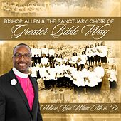 Where You Want Me to Be by Bishop Allen