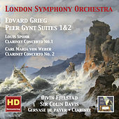 Grieg: Peer Gynt Suites, Nos. 1 & 2 - Spohr: Clarinet Concerto No. 1 - Weber: Clarinet Concerto No. 2 by Various Artists