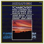 Tchaikovsky: Piano Concerto No. 1 in B-Flat Minor, Op. 23 & Slavonic March, Op. 31 by Various Artists