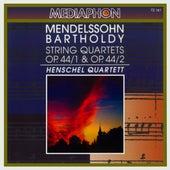 Mendelssohn: String Quartets Nos. 3 & 4, Op. 44 by Henschel Quartet