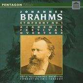 Brahms: Academic Festival Overture - Symphony No. 1 by Sofia Philharmonic Orchestra