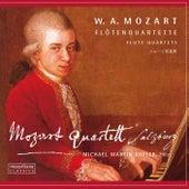 Mozart: Flute Quartets by Michael Martin Kofler