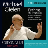 Michael Gielen Edition, Vol. 3: Brahms by Various Artists