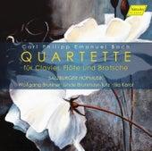C.P.E. Bach: Quartettes for Keyboard, Flute & Viola by Linde Brunmayr-Tutz