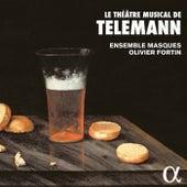 Le théâtre musical de Telemann by Ensemble Masques