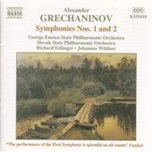 Symphonies Nos. 1 and 2 by Alexander Grechaninov