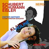 Schubert Schumann Eisler Sonaten by Eszter Haffner