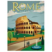 Rome italy by Various Artists
