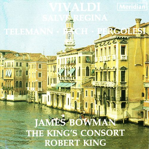 Vivaldi: Salve Regina / Telemann: Easter Cantata by James Bowman