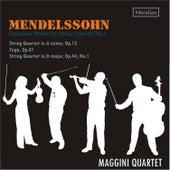 Mendelssohn: Complete Works for String Quartet, Vol. 2 by Maggini Quartet