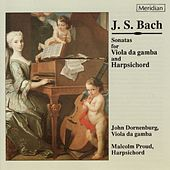 Bach: Sonatas for Viola de Gamba and Harpsichord by Malcolm Proud