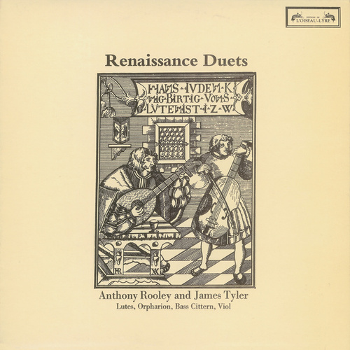 Renaissance Duets by Anthony Rooley