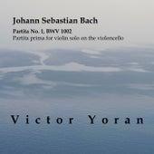 Bach: Partita No.1 for Violin Solo BWV 1002 on the Violoncello by Victor Yoran