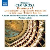 Cimarosa: Overtures, Vol. 5 by Czech Chamber Philharmonic Orchestra Pardubice