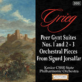 Grieg: Peer Gynt Suites Nos. 1 and 2 - 3 Orchestral Pieces From Sigurd Jorsalfar by Kosice CSSR State Philharmonic Orchestra and Stephen Gunzenhauser