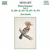 Piano Sonatas Vol. 5 by Wolfgang Amadeus Mozart