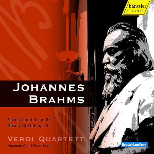 Brahms: String Quintet in F Major & String Sextet in G Major by Verdi Quartett