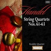 Haydn: String Quartets Nos. 61-63 by Kodály Quarte